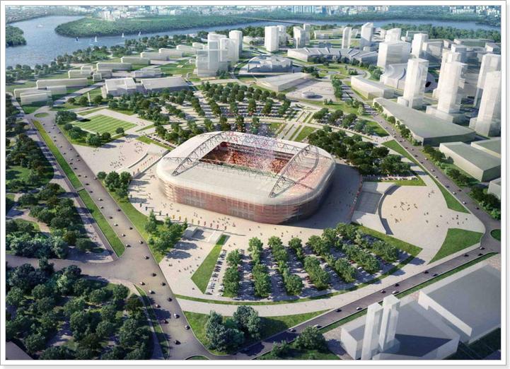 Стадионы Москвы к Чемпионату мира