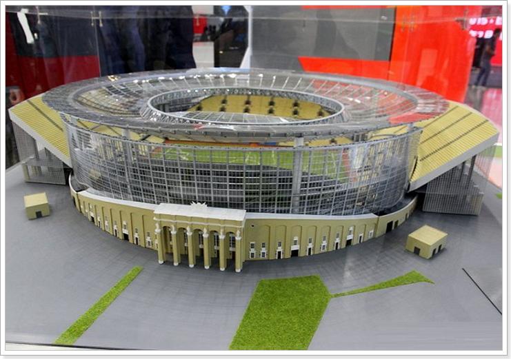 проект стадиона в Екатеринбурге к чм 2018