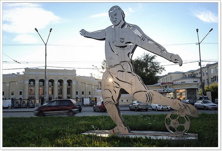 футбол 2018 Екатеринбург