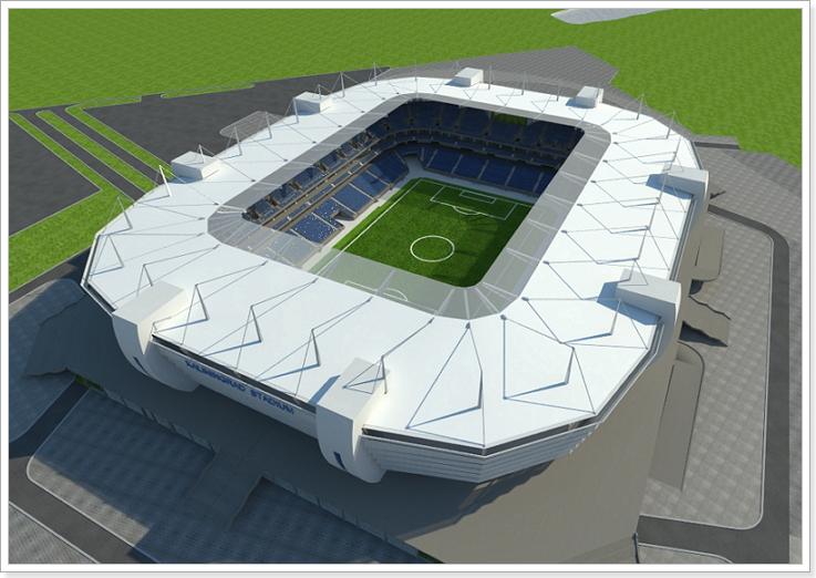проект стадиона в Калининграде к чм 2018