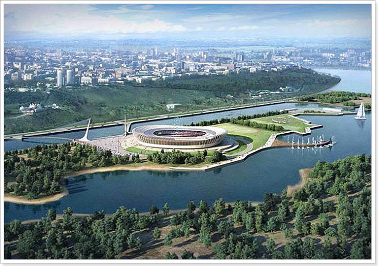 Стадион в Нижнем Новгороде к ЧМ 2018