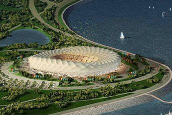 Строительство стадиона «Nizhny Novgorod»