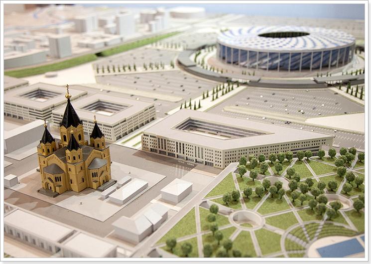 Строительство в Нижнем Новгороде