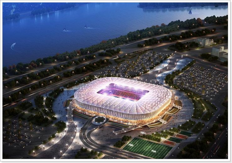 стадион чемпионата мира 2018 Ростов-на-Дону