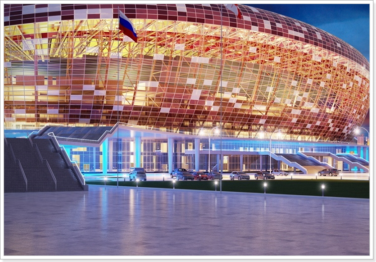 стадион в Саранске к чм 2018 фото