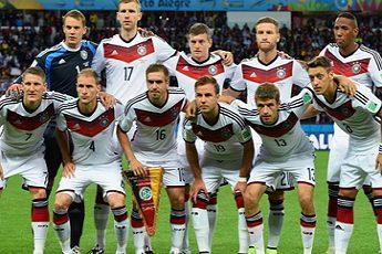 Германия футбол 2018