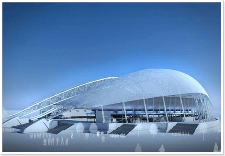 Реконструкция сочинского стадиона к ЧМ 2018