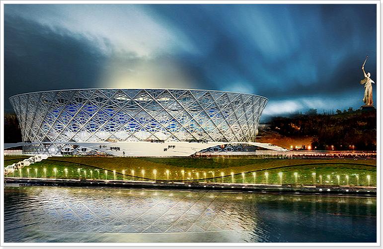 стадион в Волгограде к чм 2018