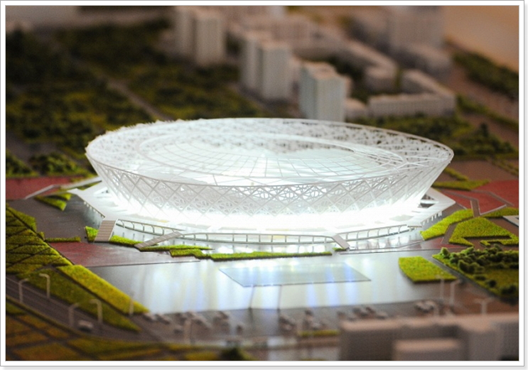 Проект строительства стадиона в Волгограде