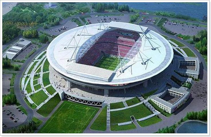стадион Санкт-Петербург к ЧМ 2018