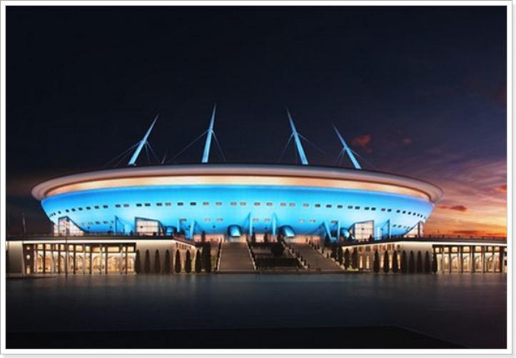 Санкт-Петербург к ЧМ по футболу 2018