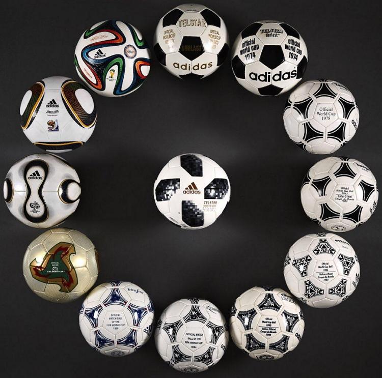 Мячи Телстар от Адидас