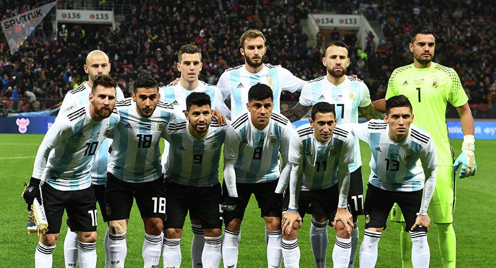Сборная Аргентины наЧМ 2018 в России