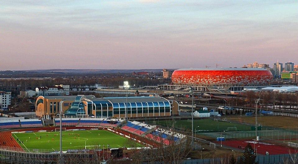 Саранск станет следующим пунктом Парка футбола ЧМ-2018
