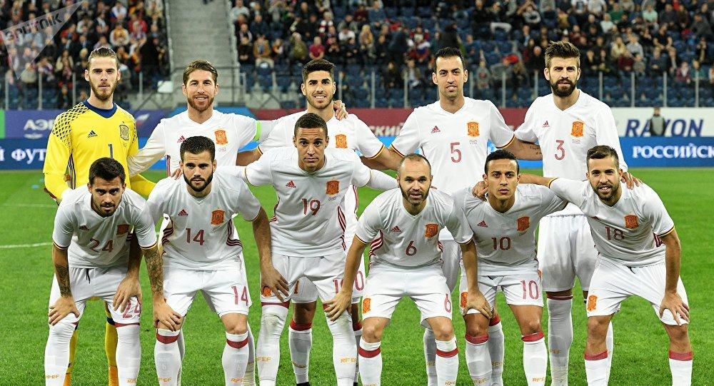 Расписание сборной испании по футбол