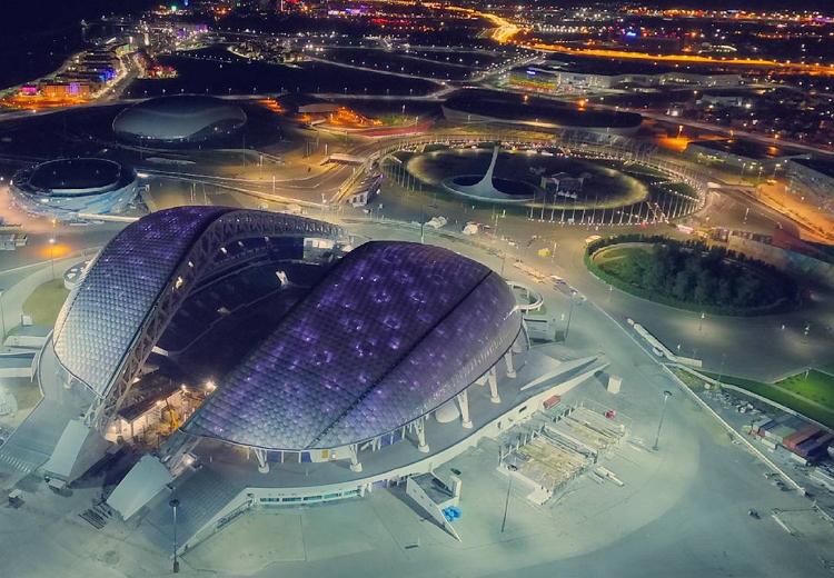 Стадионы Чемпионата Мира 2018 - адреса и координаты