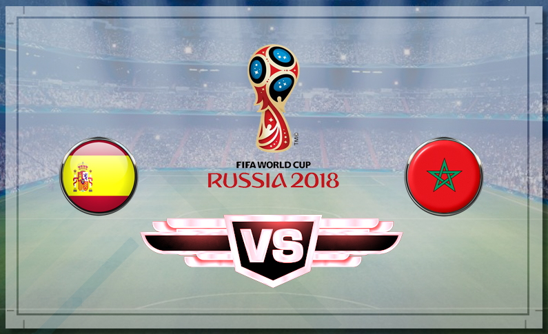 Матч Испания - Марокко 25июня 2018— прогнозы наматч, подробности