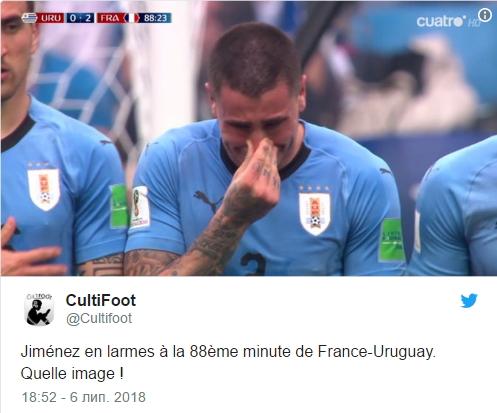 Матч 1/4 стадии плей-офф Уругвай - Франция 6 июля ЧМ 2018: обзор, результат и видео голов
